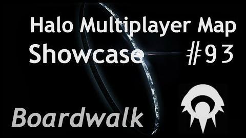 Halo Multiplayer Maps -93 - Halo Reach- Boardwalk