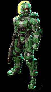 MJOLNIR Soldier