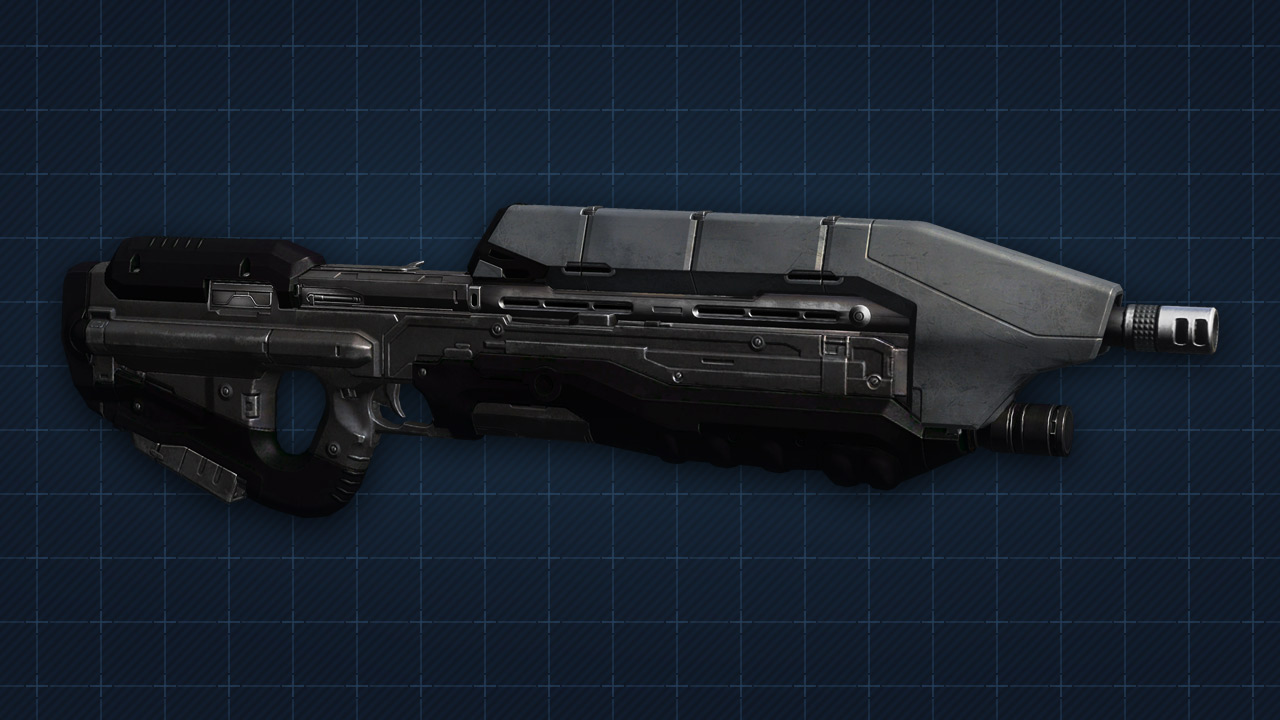 halo 4 battle rifle by jarjarguy on DeviantArt