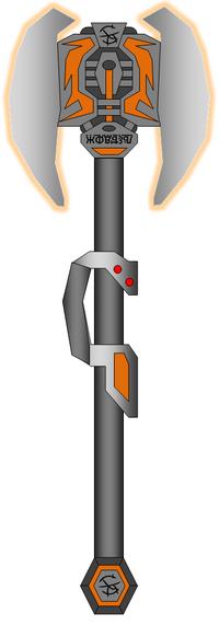 Type-3 Sabre-Gavity Battle Axe.Novus