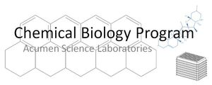 Chemical Biology Program at Acumen Science