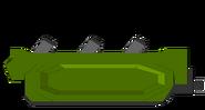 Anti mine sled