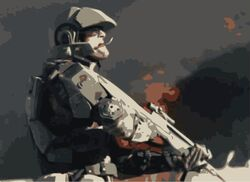 RelentlessRecusant Marine in 16 Against Smoke