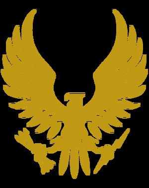 Spartan Corps Logo Gold