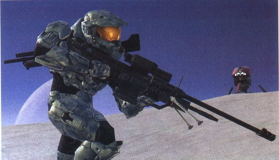 File:Spartan with Sniper Rifle and Shotgun.jpg