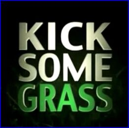 Kick some grass logo