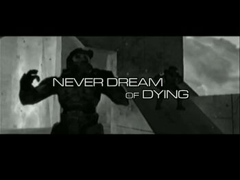 Never Dream of Dying T Grab