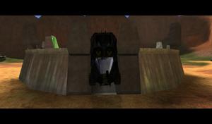 Rocket hog door