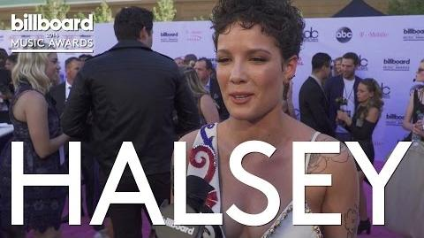 Halsey at Billboard Music Awards 2016 Red Carpet