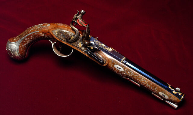 File:Flintlock Firearm pistol.jpg