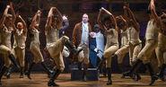 Hamilton ensemble costumes