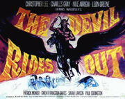 The Devil Rides Out (1968 film poster)