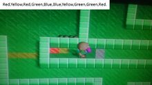 Tomb of Din Colored tile puzzle