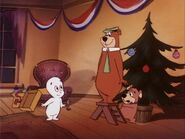 Casper meets Yogi and Boo Boo
