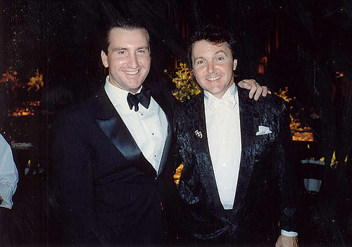 File:Mike with Fred Travelena.jpg