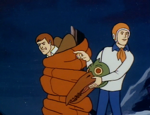 Johnny (Hang in There, Scooby-Doo) unmasked