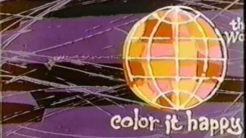 The World - Color it Happy
