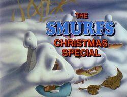 Smurfs Christmas Special title