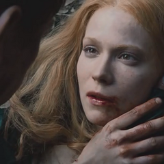 Her last dying words to Hansel.