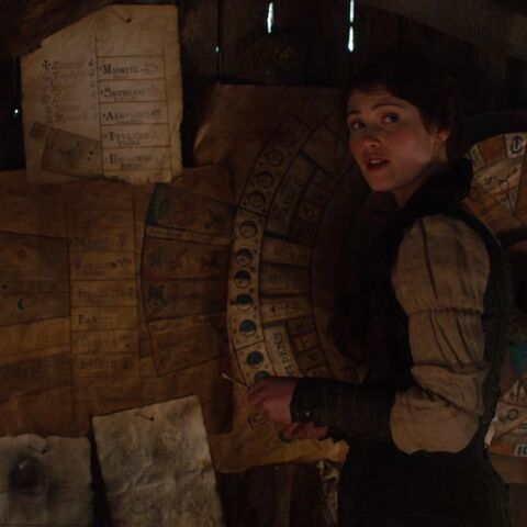 Gretel in Ben's House.