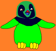 King Emperguin as a chick