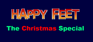Happy Feet The Christmas Special Logo