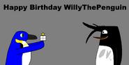 Happy Birthday WillyThePenguin