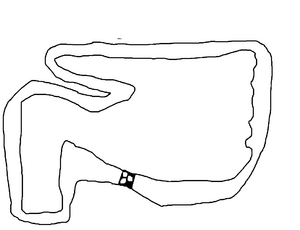 Snowy Circuit (Course Map)