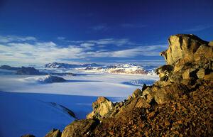 Transantarctic mountain hg