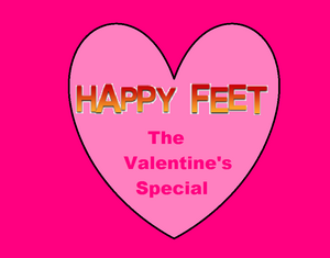 Happy Feet The Valentine's Special Logo