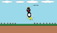 Ramon jumps on Goomba