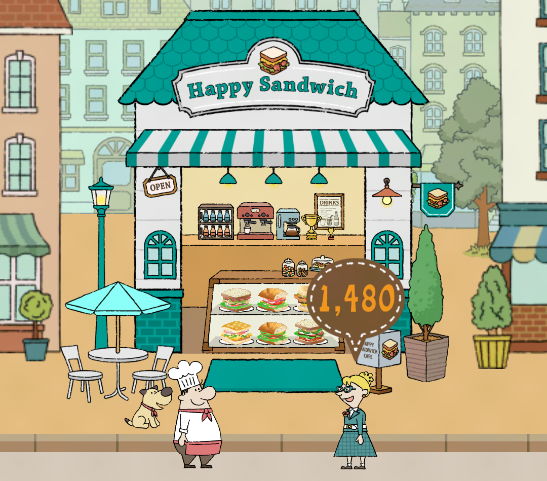 image - decoration contest result | happy sandwich cafe wikia