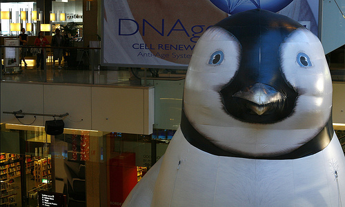 File:A 60 foot high inflatable 'Mumble'.jpg