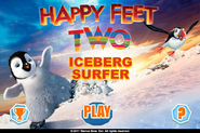 Happy Feet Two Iceberg Surfer Main Menu