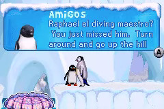 Amigos (character) from Happy Feet (GBA Version)
