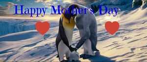 Happy Feet Mother's Day Pic