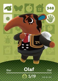 Olaf Card