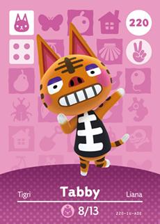 Tabby Card