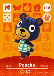 Poncho Card