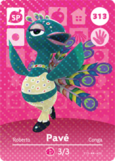 Pavé Card