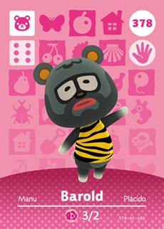 Barold Card