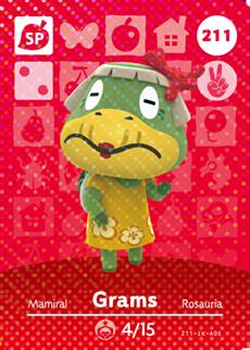 Grams Card