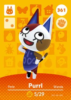 Purrl Card