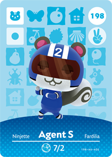 Agent S Card