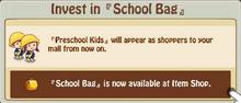 Schoolbag Invest 2