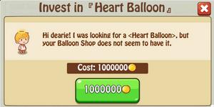 Heart Balloon invest