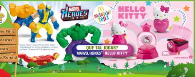 2011 McD Brazil Marvel Hello Kitty