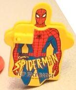 SpidermanFlipFaceBadge