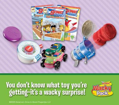 Sonic wacky surprise
