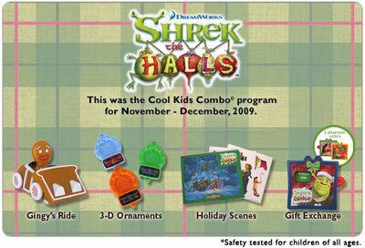 Hardees 2009 Shrek the Halls
